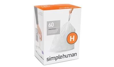 simplehuman Müllbeutel passgenaue Müllbeutel Nachfüllpack code H kaufen