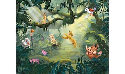 Komar Fototapete »Lion King Hakuna Matata«, bedruckt-Comic-Retro-mehrfarbig, BxH:... kaufen