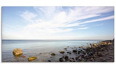 Artland Glasbild »Brodtener Ufer«, Strand, (1 St.) kaufen