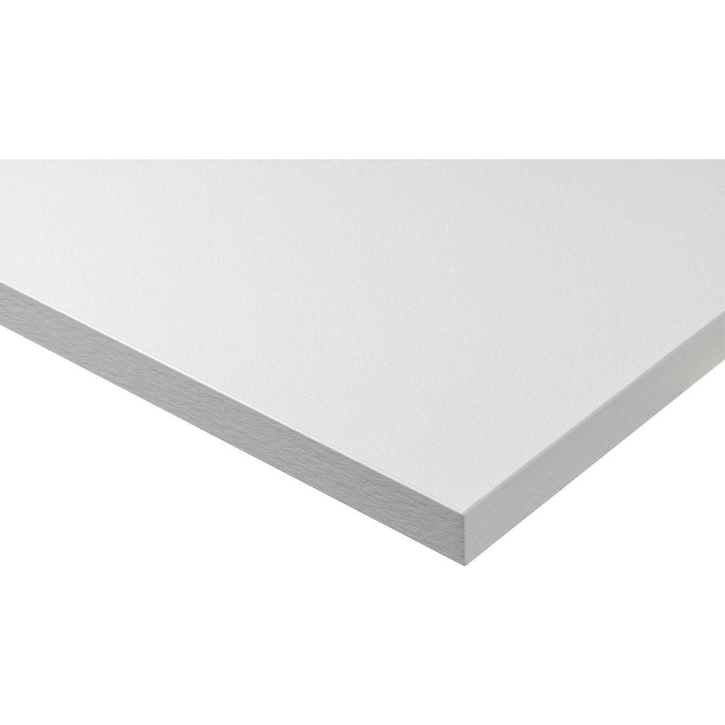 Express Küchen Küchenzeile »Bari«, ohne E-Geräte, mit Soft-Close-Funktion und Vollauszug, vormontiert, Breite 280 cm