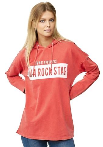 Decay Kapuzensweatshirt, mit ROCKSTAR-Aufdruck kaufen