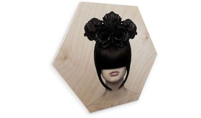 Wall-Art Holzbild »Blumen Holzbild Fashion Holzdeko«, (1 St.) kaufen