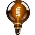 BLULAXA LED-Filament »Vintage«, E27, 2 St., Extra-Warmweiß, 2er-Set, Vintage Globe, 125 mm, smoky, superwarmweis