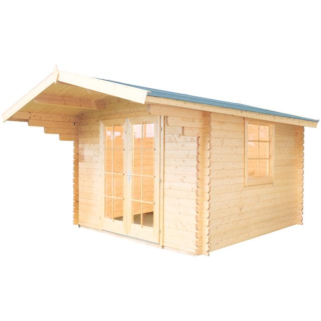 WOLFF FINNHAUS Gartenhaus »Breda«, BxT: 360x450 cm