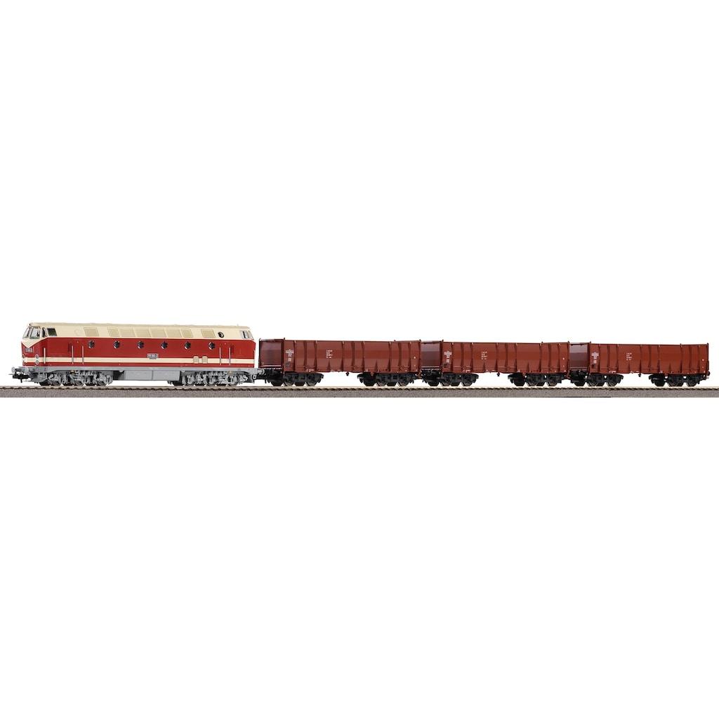 PIKO Modelleisenbahn Startpaket »BR 119 und 3 Hochbordwagen, (57138)«