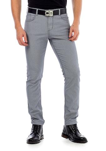 Cipo & Baxx Stoffhose, im modischen Slim Fit-Schnitt kaufen