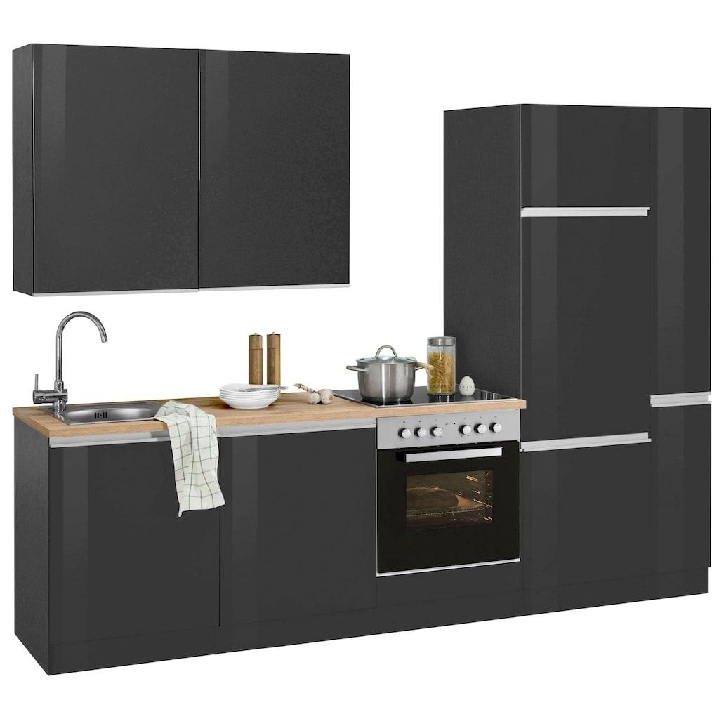 HELD MÖBEL Küchenzeile »Ohio«, ohne E-Geräte, Breite 270 cm