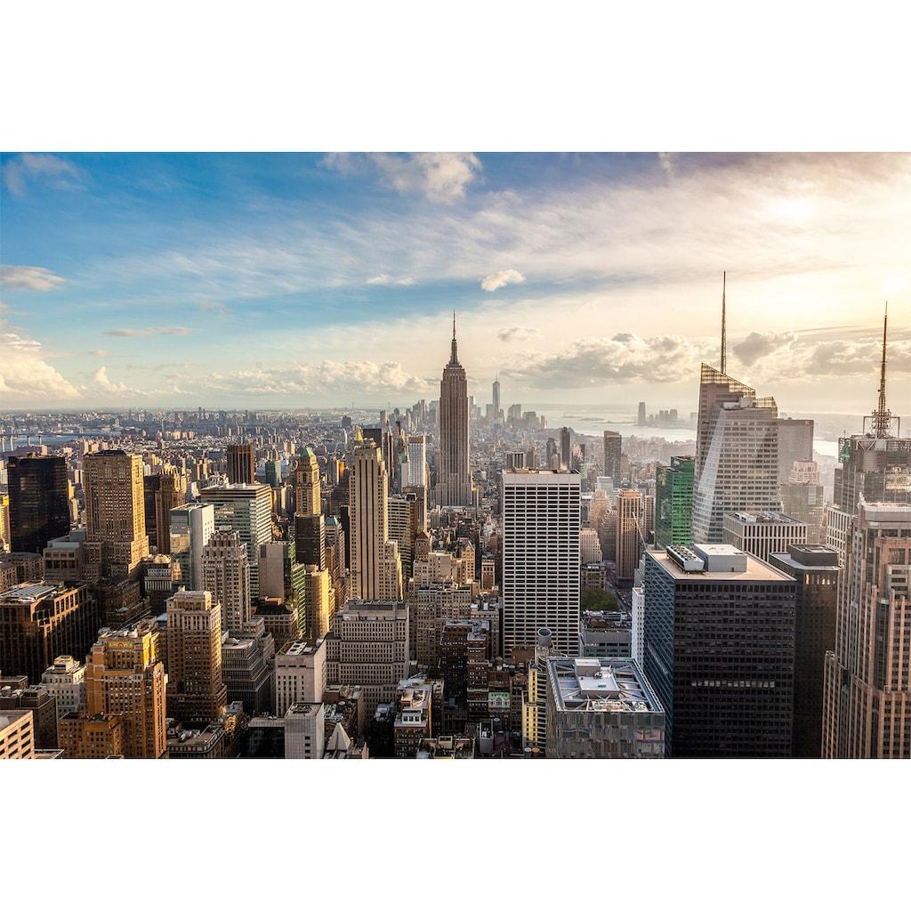 Papermoon Fototapete »New York City Skyline«