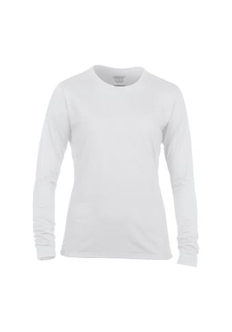 Gildan Langarmshirt »Damen Longsleeve / T - Shirt, Langarm, Rundhalsausschnitt« kaufen