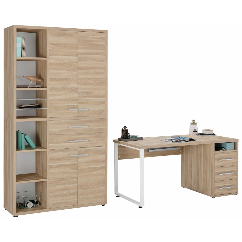 Maja Möbel Büro-Set »1390«, (Set, 2 tlg.)