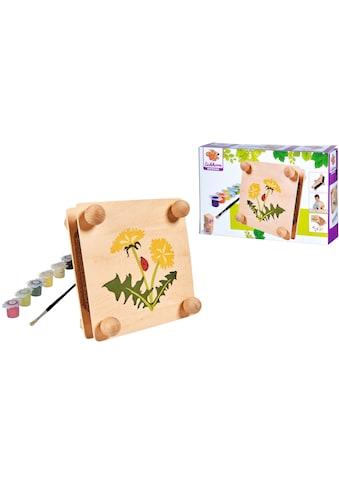 Eichhorn Kreativset »EH Outdoor, Blätterpresse«, (Set), zum Zusammenbauen und Bemalen;... kaufen