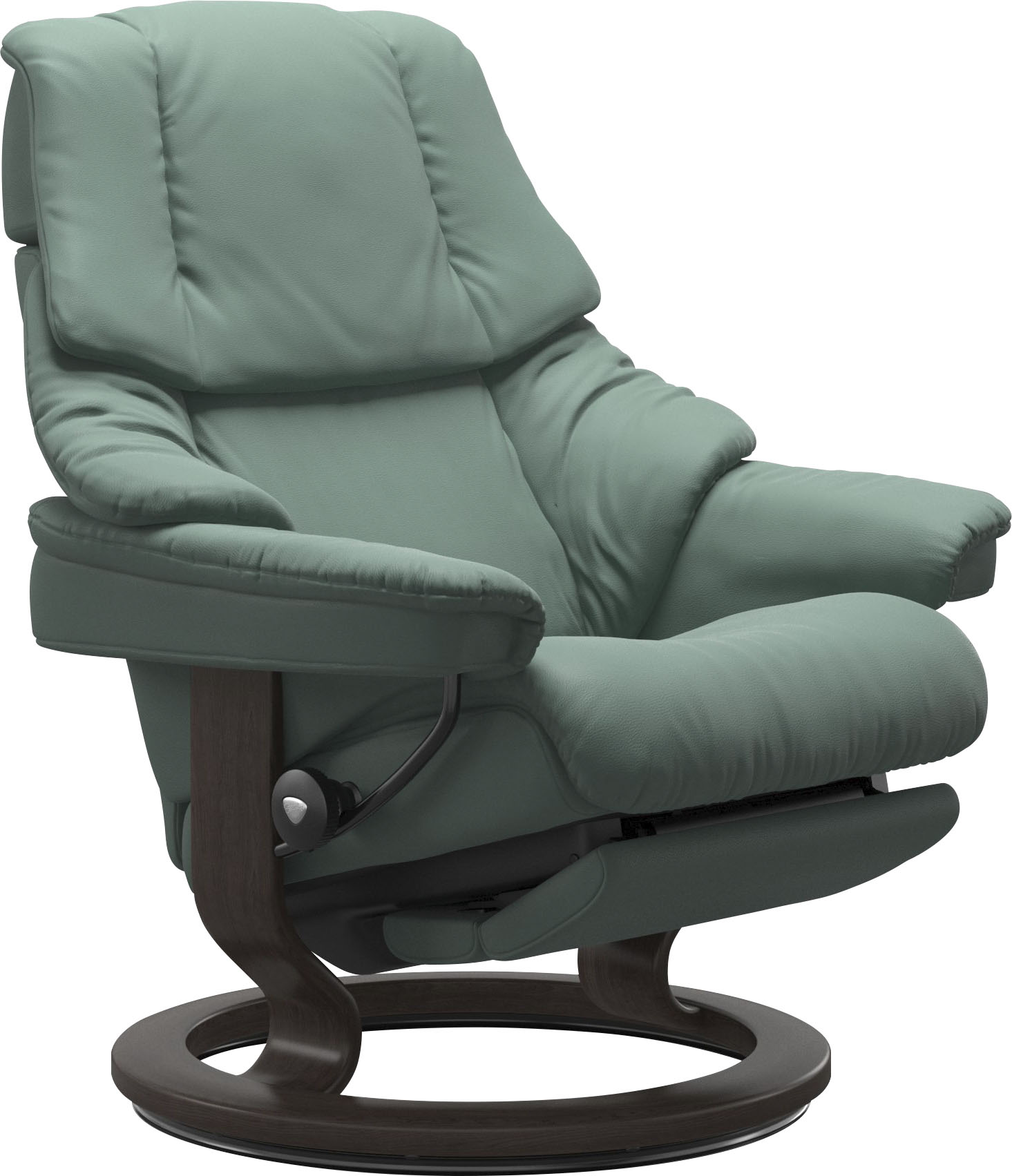 Stressless Relaxsessel Reno, mit Classic Base und Power™, elektrisch verstellbar, optional 2-motorisch, Größe M & L, Gestell Wenge