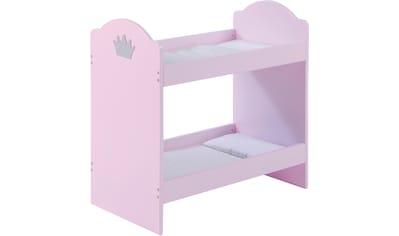 roba® Puppenbett »Prinzessin Sophie«, mit zwei Inlets kaufen