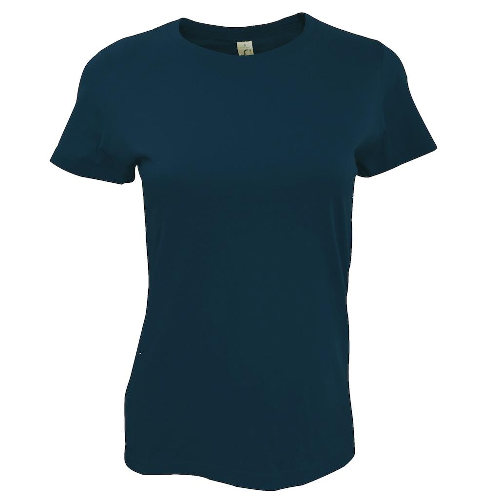 SOLS T-Shirt »Imperial Damen, Kurzarm, Rundhalsausschnitt«