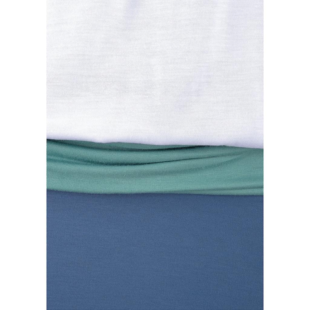Beachtime Strandkleid, aus Viskosejersey