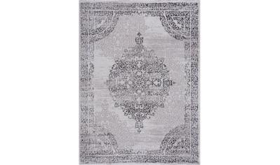 Sanat Teppich »Evra 7003«, rechteckig, 22 mm Höhe, Kurzflorteppich mit Hoch Tief Struktur kaufen