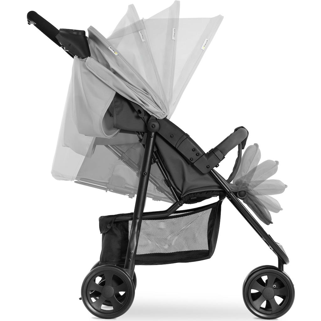 Hauck Dreirad-Kinderwagen »Citi Neo 3, grey«, 22 kg, mit schwenk- und feststellbarem Vorderrad