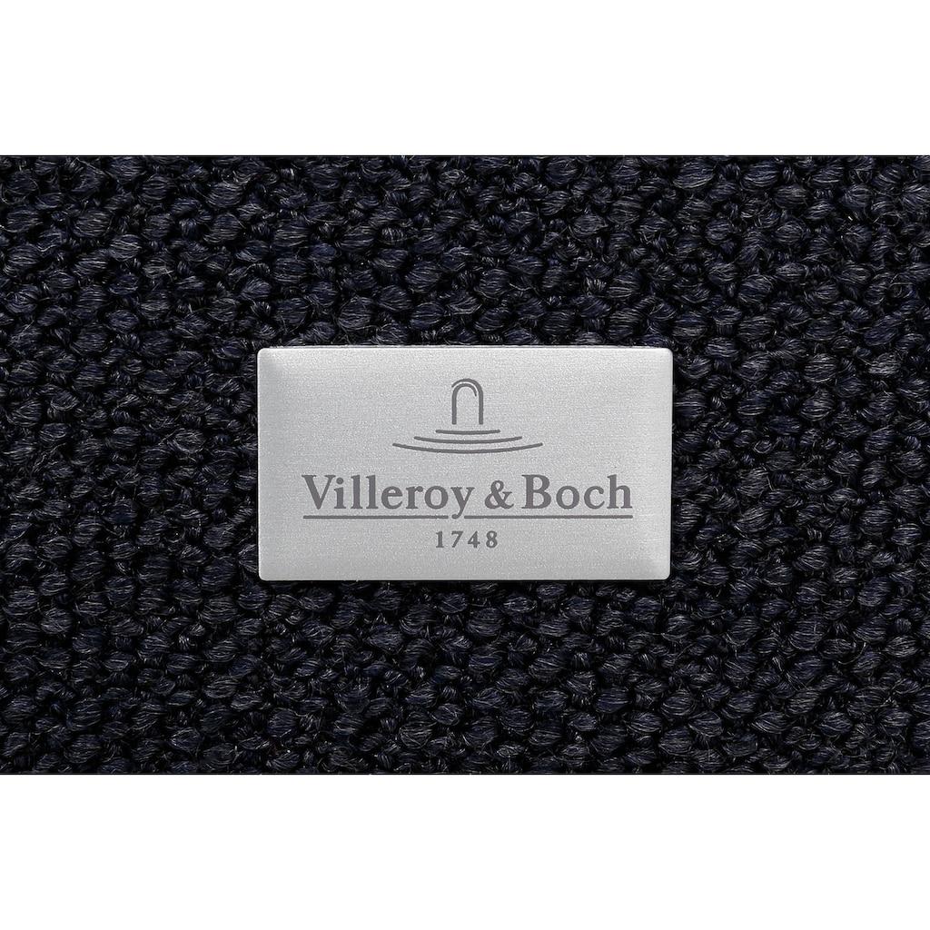 Villeroy & Boch Boxspringbett »LAILA CARRÉ«, Doppelbett mit Kopfteil Curve Slim Höhe 130 cm, TFK 500/1000