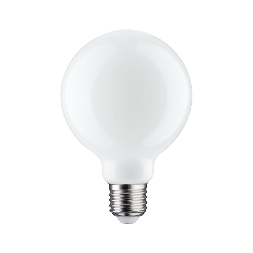 Paulmann LED-Leuchtmittel »Globe 7,5 Watt E27 Opal Warmweiß«, E27, 1 St., Warmweiß