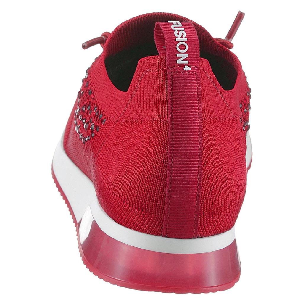Ara Slip-On Sneaker »LISSABON«, mit Strass-Stein-Verzierung