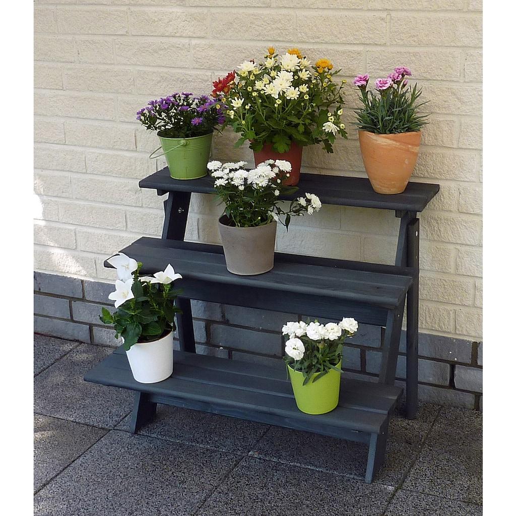 promadino Blumenständer »Blummentreppe Anja«, BxTxH: 78x55x62 cm