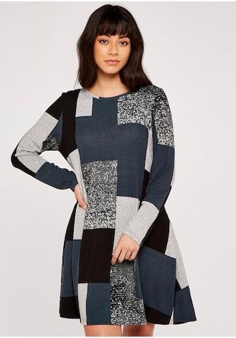 Apricot Strickkleid »Colourblock Soft Touch Swing Dress«, mit aufgesetzten Taschen kaufen