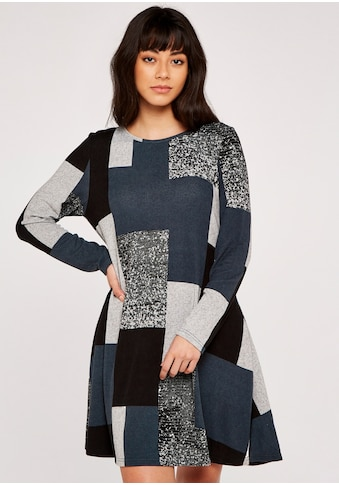 Apricot Strickkleid »Colourblock Soft Touch Swing Dress« kaufen