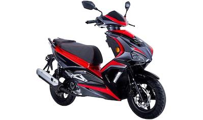 GT UNION Motorroller »Striker«, 50 cm³, 45 km/h, Euro 4, 3 PS kaufen