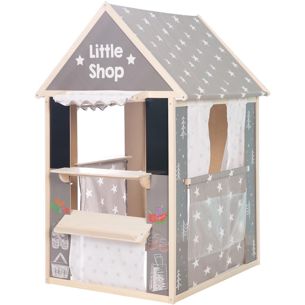 roba® Spielhaus »Sterne«, mit vier verschiedenen Spielseiten