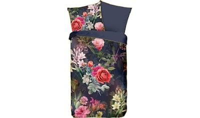 Descanso Wendebettwäsche »Simone«, mit Blumen kaufen