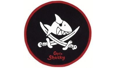 Capt`n Sharky Kinderteppich »SH-2360-01«, rund, 10 mm Höhe, handgearbeiteter... kaufen