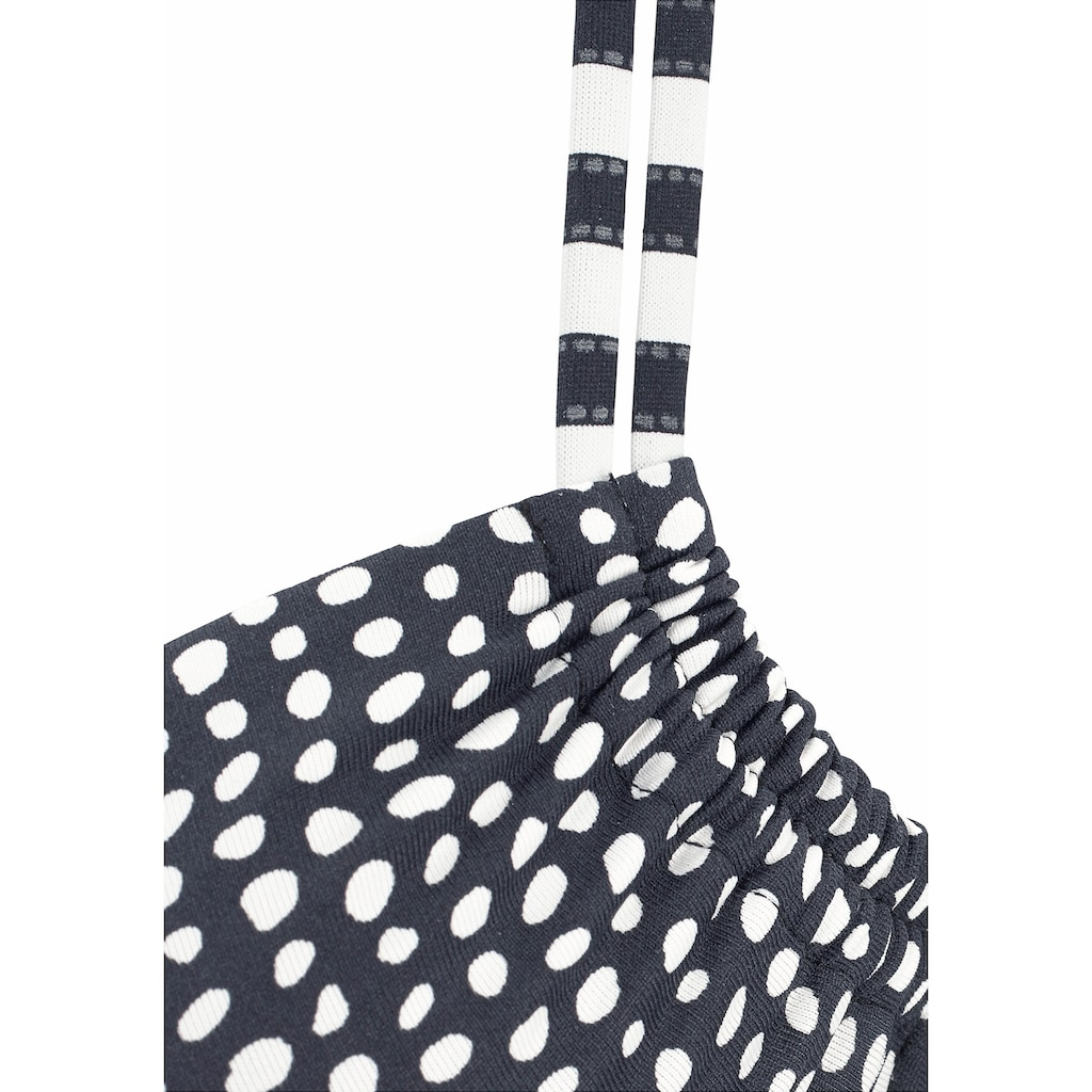 s.Oliver Beachwear Bügel-Bikini, im angesagten Mustermix