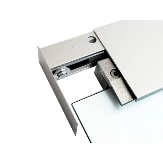 DORMA Glasschiebetür »MUTO Comfort M 60«, satiniert, mit Muschelgriff