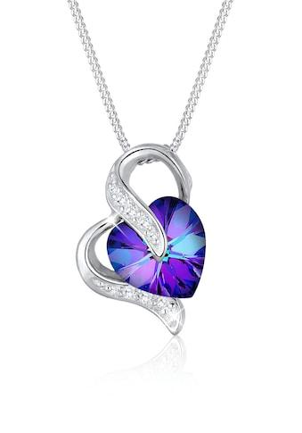 Elli Collierkettchen »Herz Zirkonia Swarovski® Kristalle Silber« kaufen