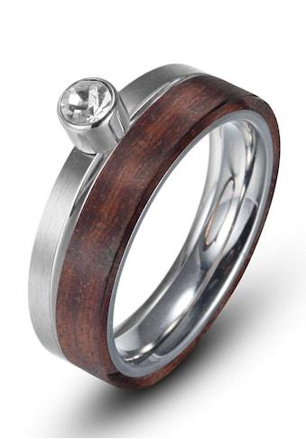 Firetti Fingerring »zus. 6,0 mm, glänzend, matt, bicolor« kaufen