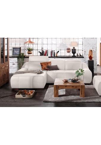 Premium collection by Home affaire Ecksofa »Spirit«, mit Recamiere, wahlweise mit... kaufen