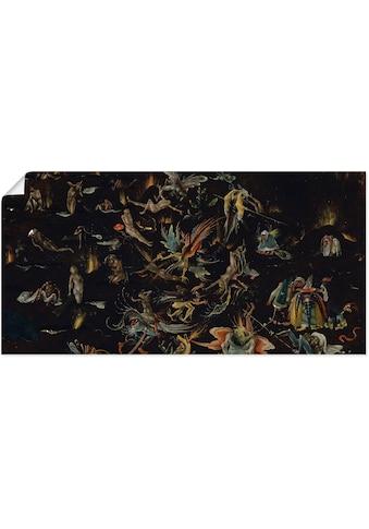 Artland Wandbild »Darstellung des Jüngsten Gerichts« kaufen