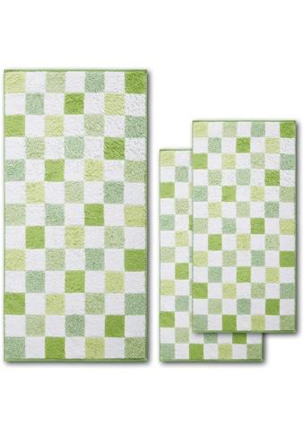 Handtuch Set, »Green Paradise Chessboard«, Dyckhoff (Set) kaufen