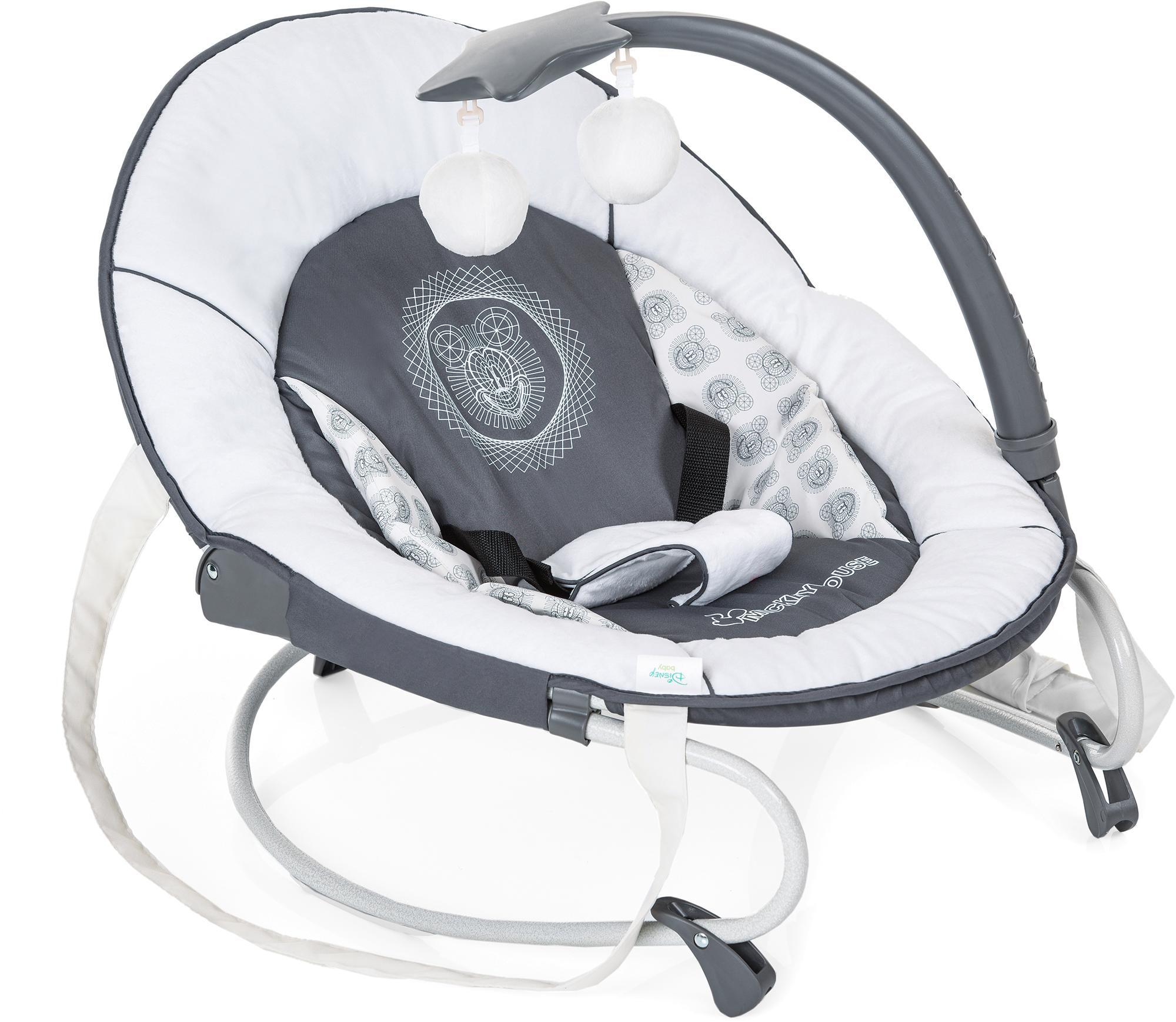Hauck Babywippe Leisure, Mickey Cool Vibes, bis 9 kg bunt Baby Babywippen Bauchtragen, Babyschaukeln