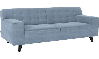 TOM TAILOR 2-Sitzer »NORDIC CHIC«, im Retrolook, Füße wengefarben kaufen