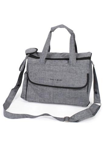 CHIC4BABY Wickeltasche »Komfort, jeans grau« kaufen