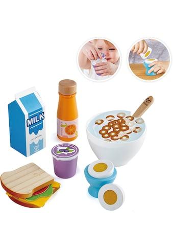 Hape Spiellebensmittel »Frühstücks-Set«, aus Holz; für Kaufladen oder Kinderküche kaufen