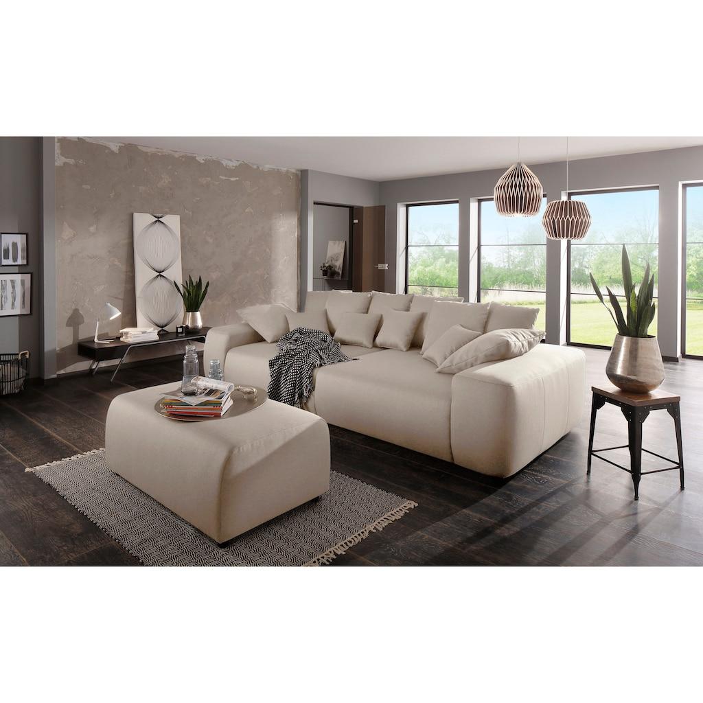 Home affaire Big-Sofa »Sundance Luxus«, mit besonders hochwertiger Polsterung für bis zu 140 kg pro Sitzfläche
