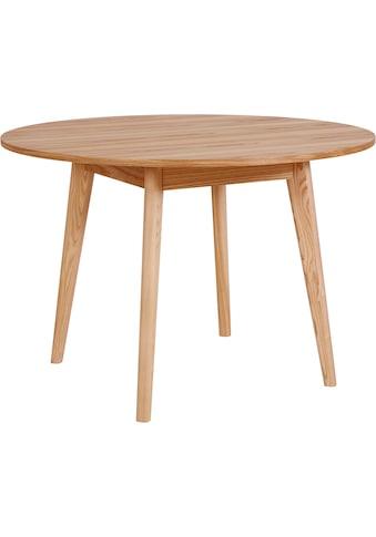 andas Esstisch »Alfredo«, Beine aus Massivholz kaufen