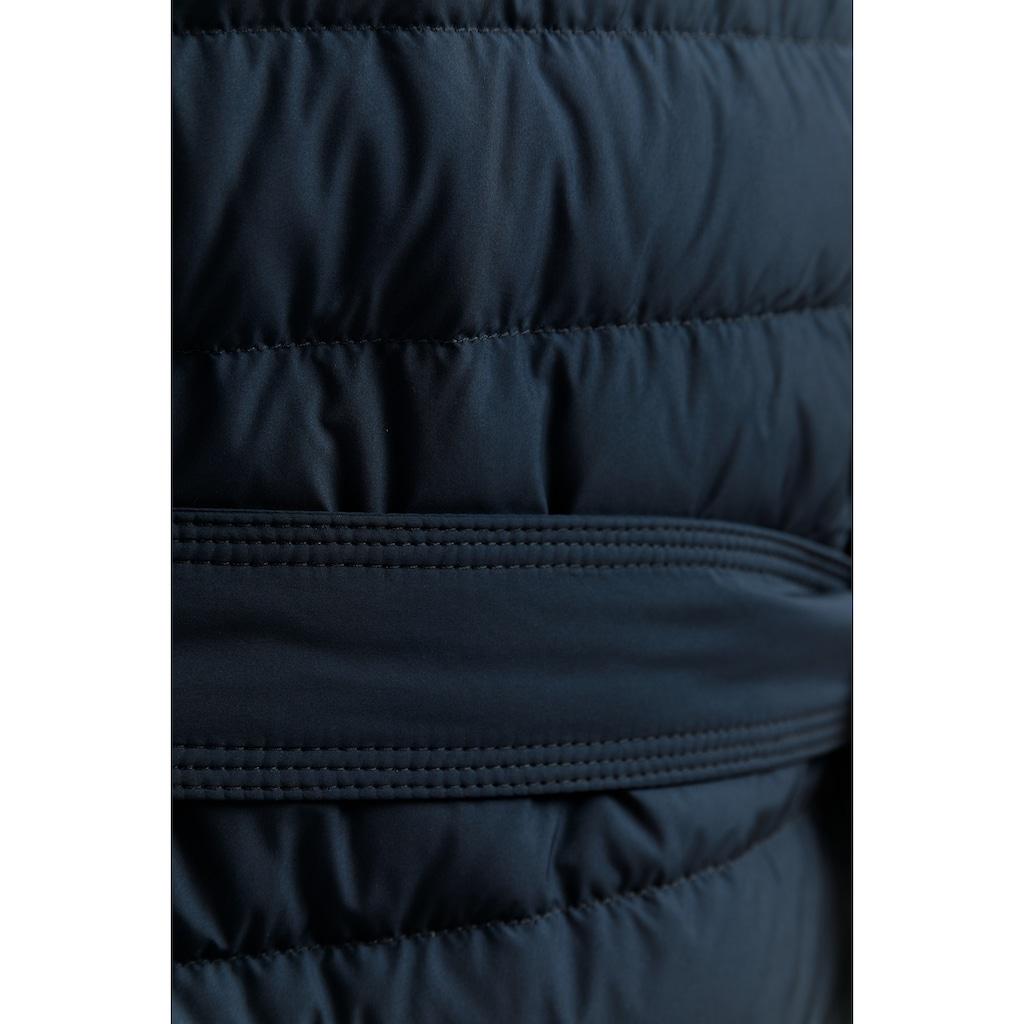 Finn Flare Daunenmantel, mit modischem Gürtel