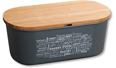 KESPER for kitchen & home Brotkasten, (1 tlg.), mit Deckel als Schneidbrett kaufen