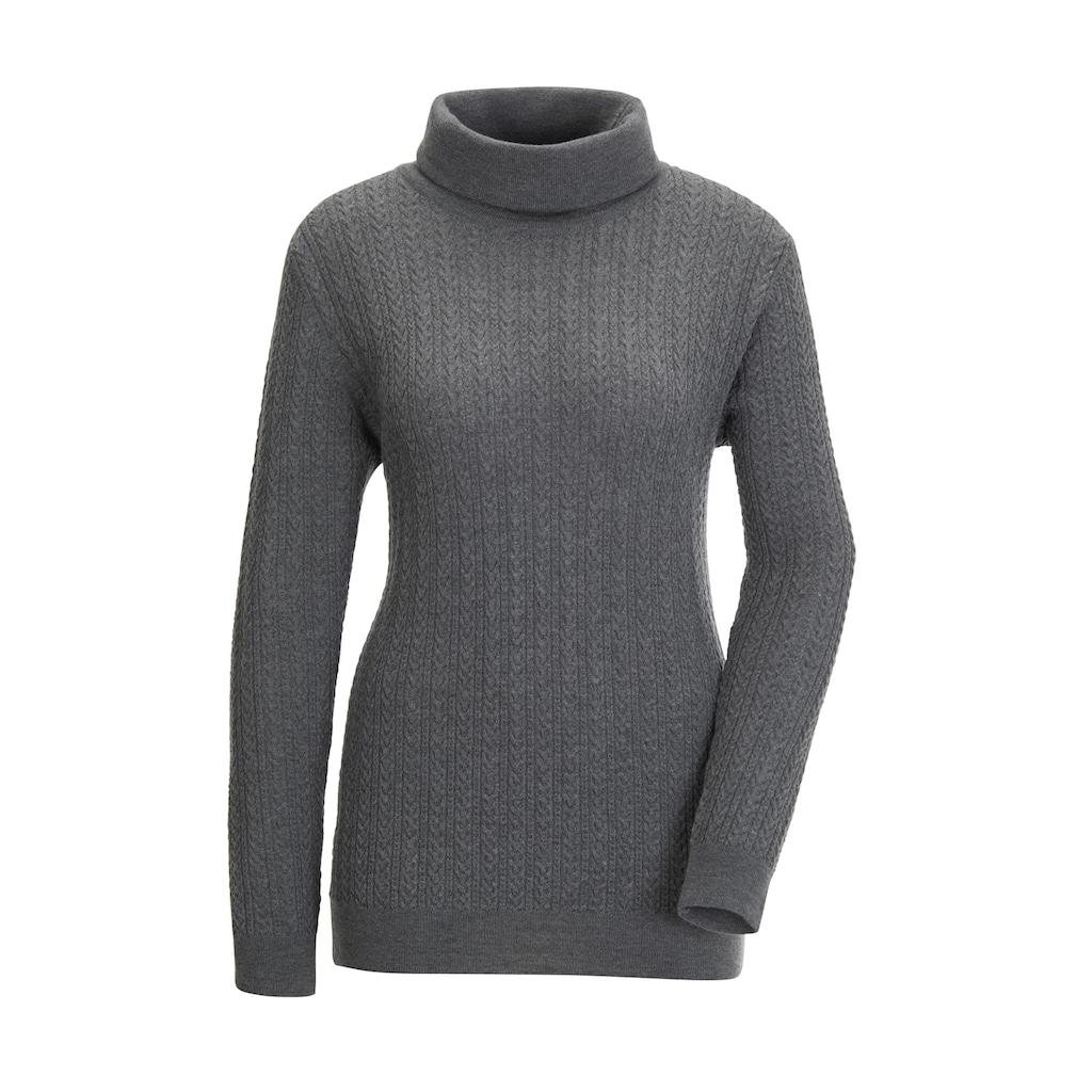 Casual Looks Wollpullover »Merino-Kaschmir-Pullover«