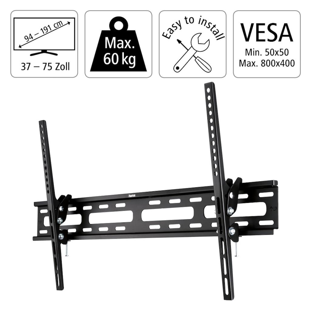 """Hama TV-Wandhalterung neigbar VESA bis 800 x 400, 191 cm (75"""")"""