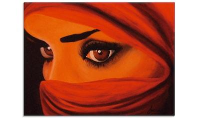 Artland Glasbild »Tuareg-Die von Gott Verlassene«, Frau, (1 St.) kaufen
