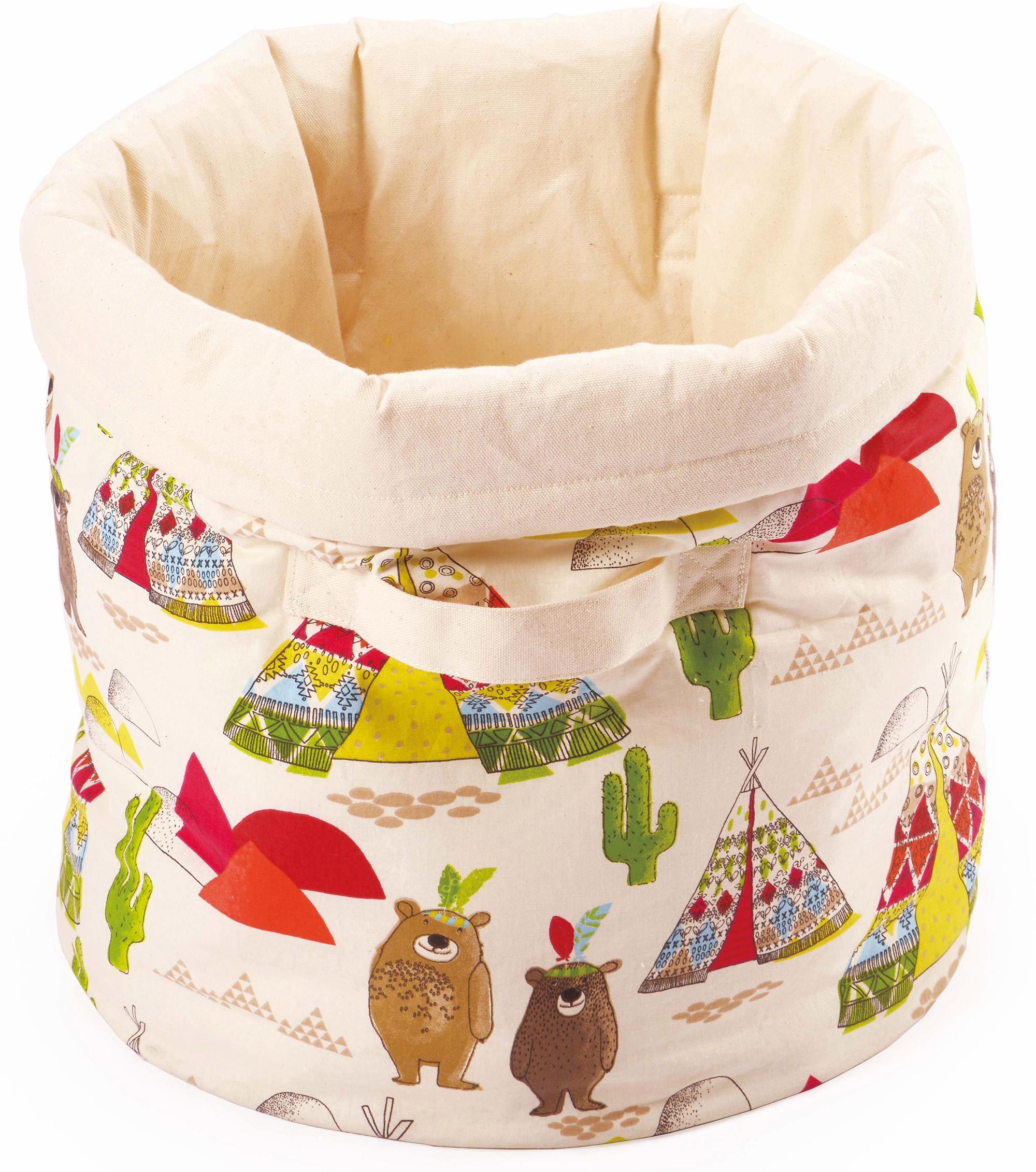 Käthe Kruse Aufbewahrungsbox Bärenland Spielzeugtasche bunt Ab Geburt Altersempfehlung Aufbewahrungsboxen